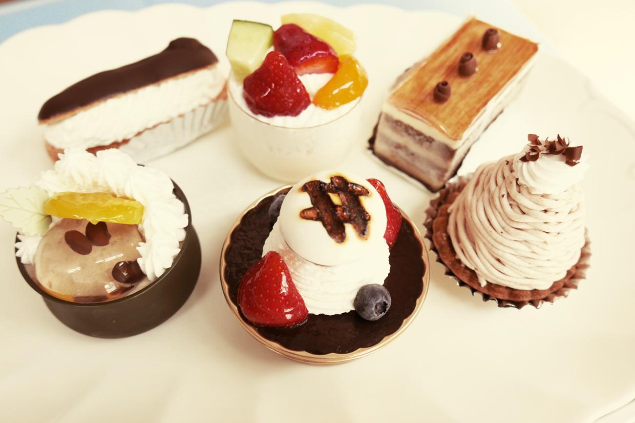 花月堂のケーキの画像