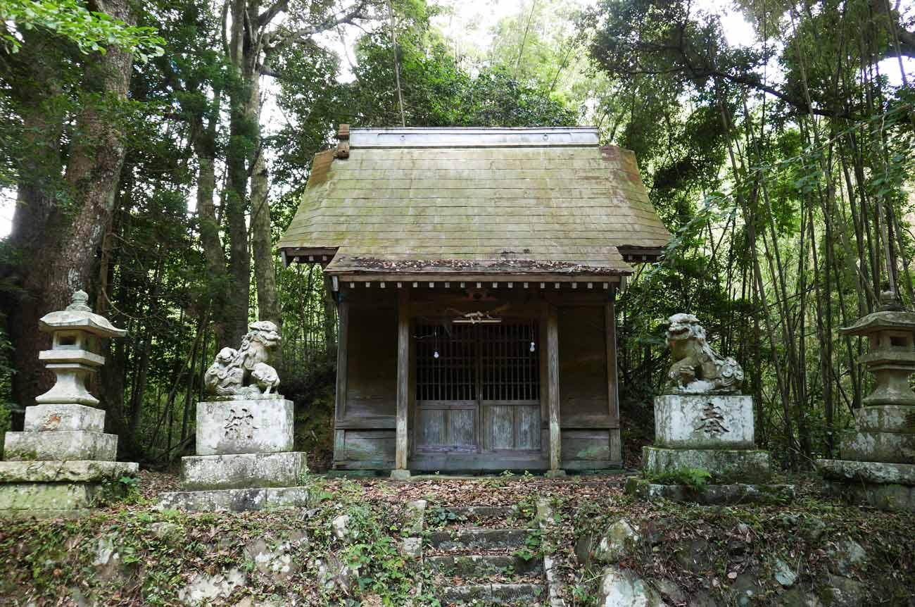 大井神社拝殿の画像