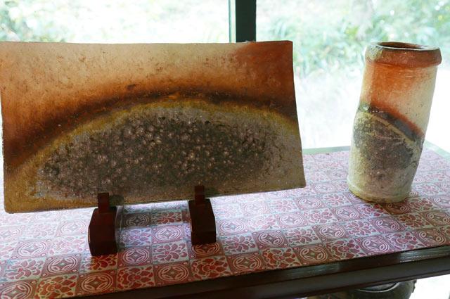 ルーラルガーデン・カフェの陶芸アップ