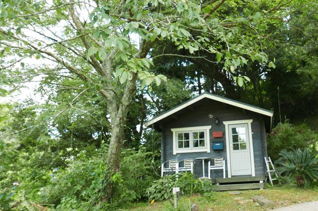 ルーラルガーデン・カフェの小屋の