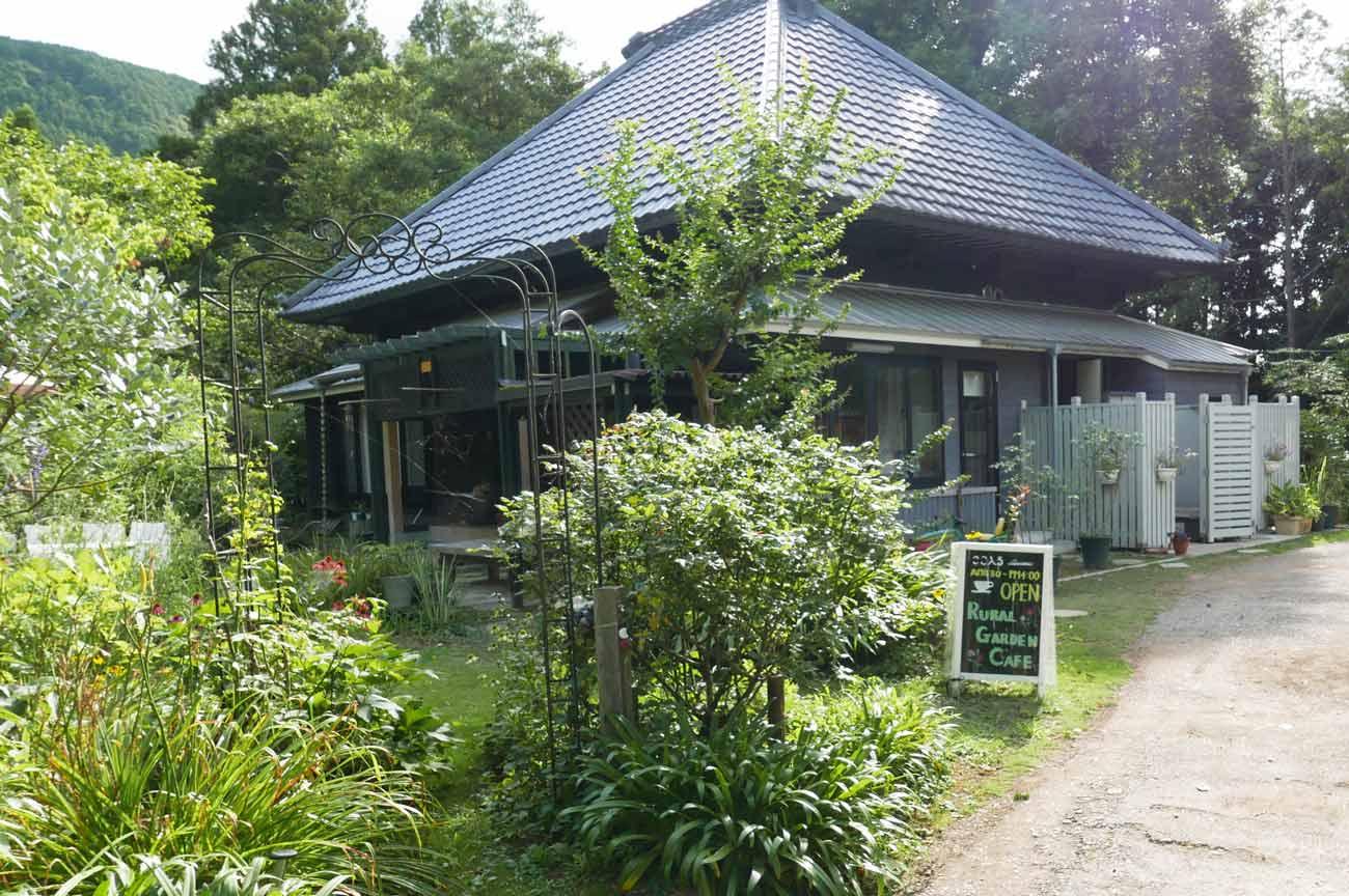 ルーラルガーデン・カフェの古民家の画像