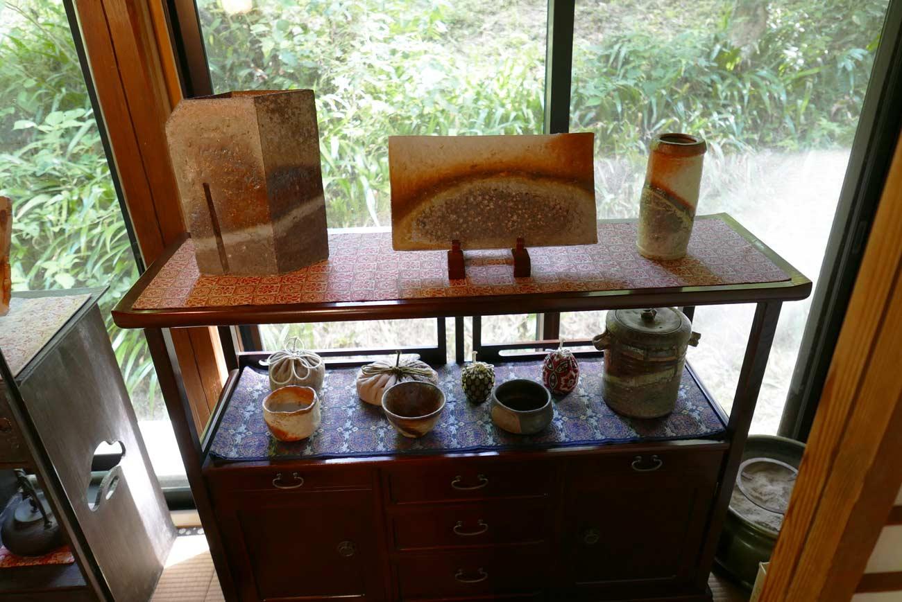 ルーラルガーデン・カフェの陶芸の画像