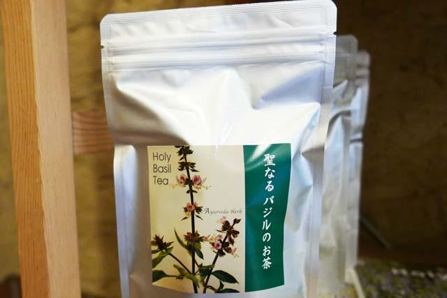 聖なるバジルのお茶の画像