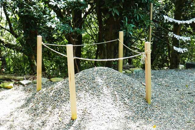 魚見塚浅間神社のお砂取りの画像