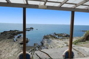 岬カフェからの眺望