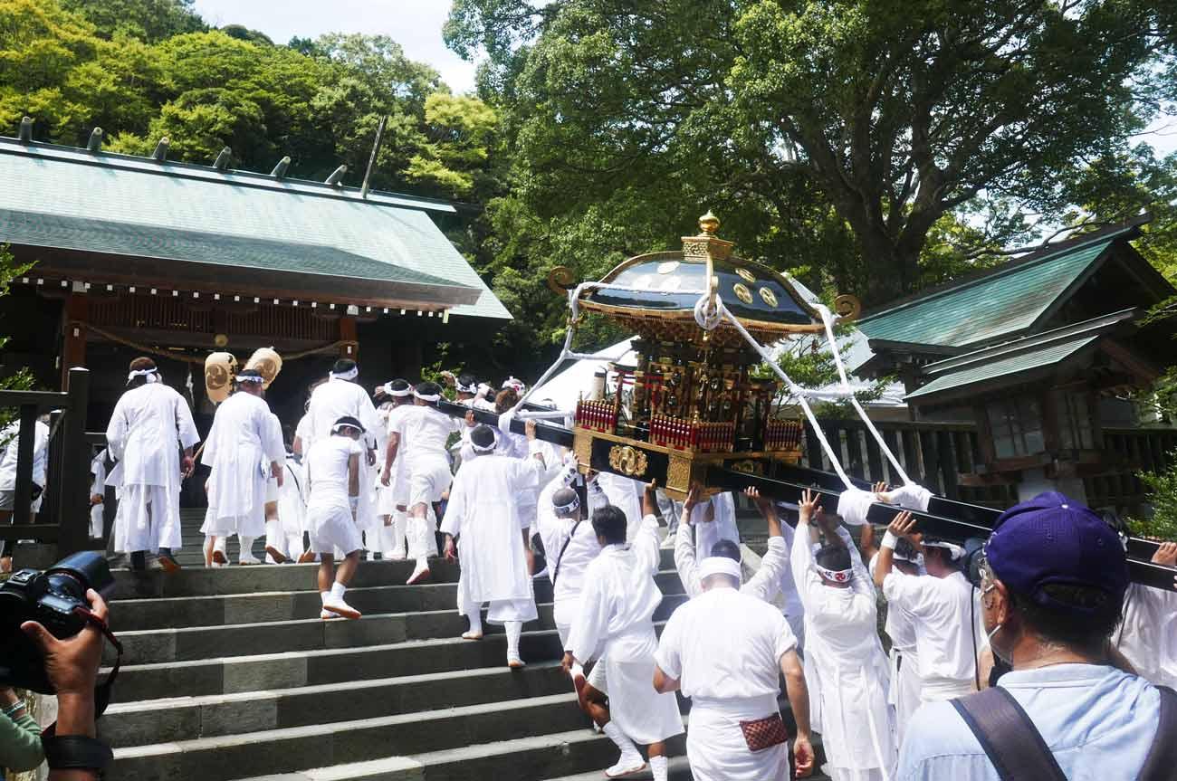 八坂神社の神輿の画像