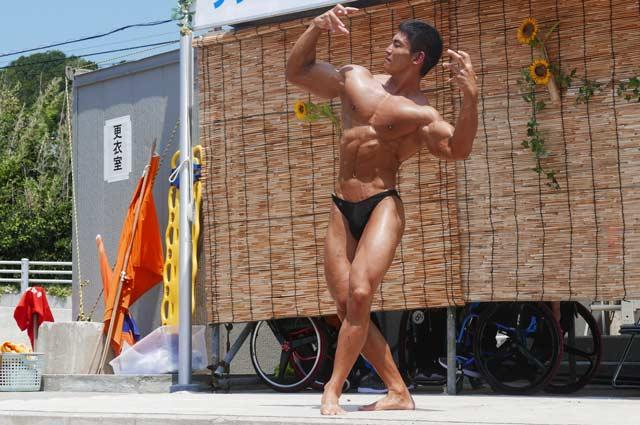 東京都ボディビル選手権優勝者の画像