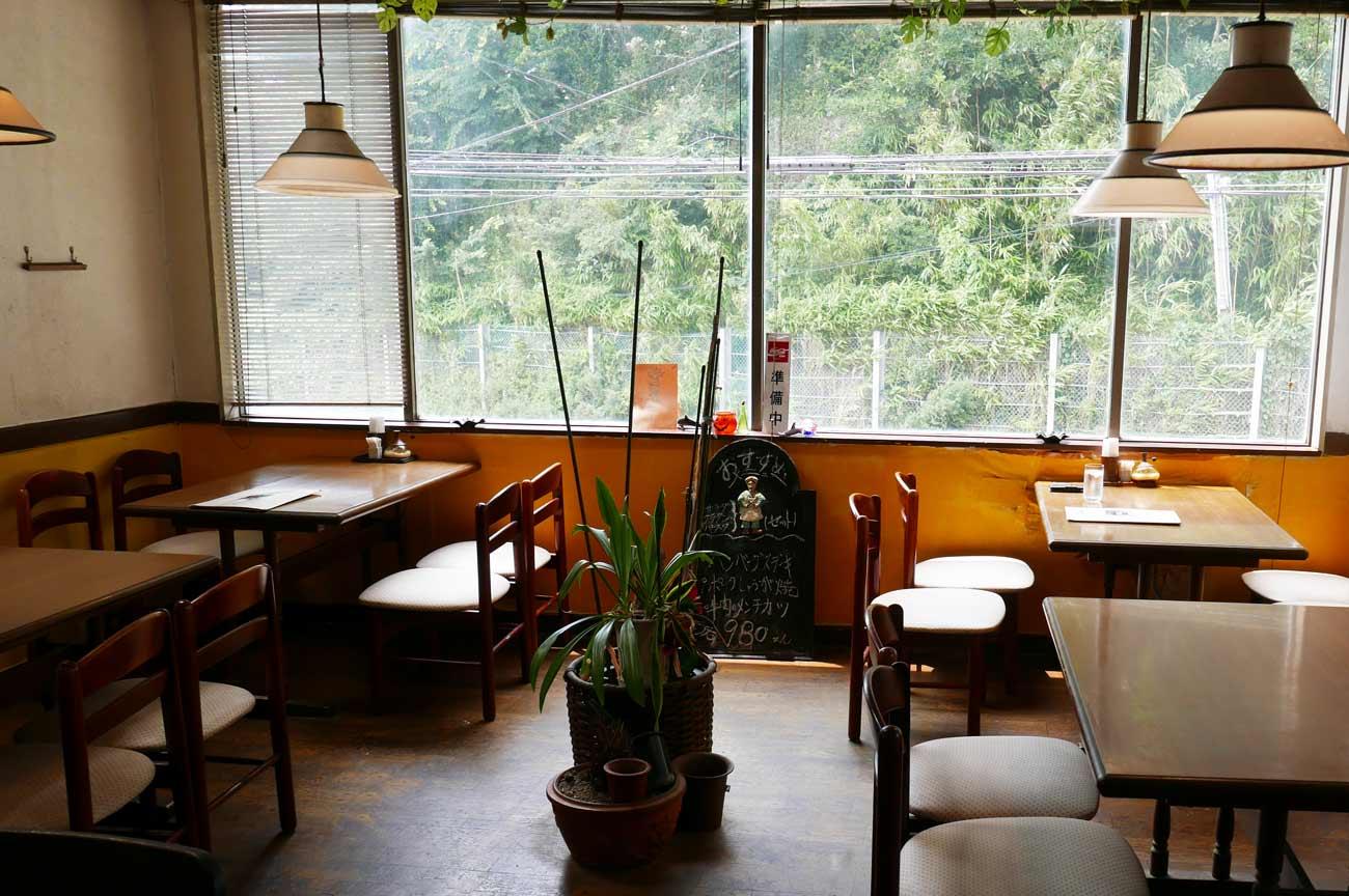 レストランフィッシングの店内画像