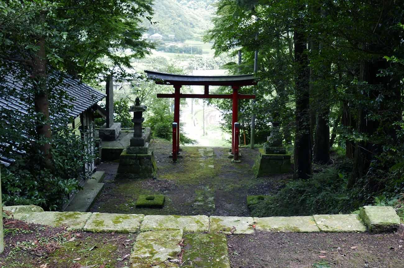 白山神社境内の画像