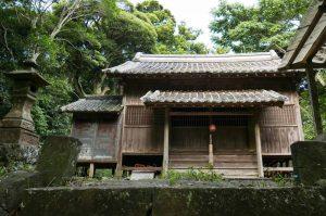 川戸神社拝殿の画像