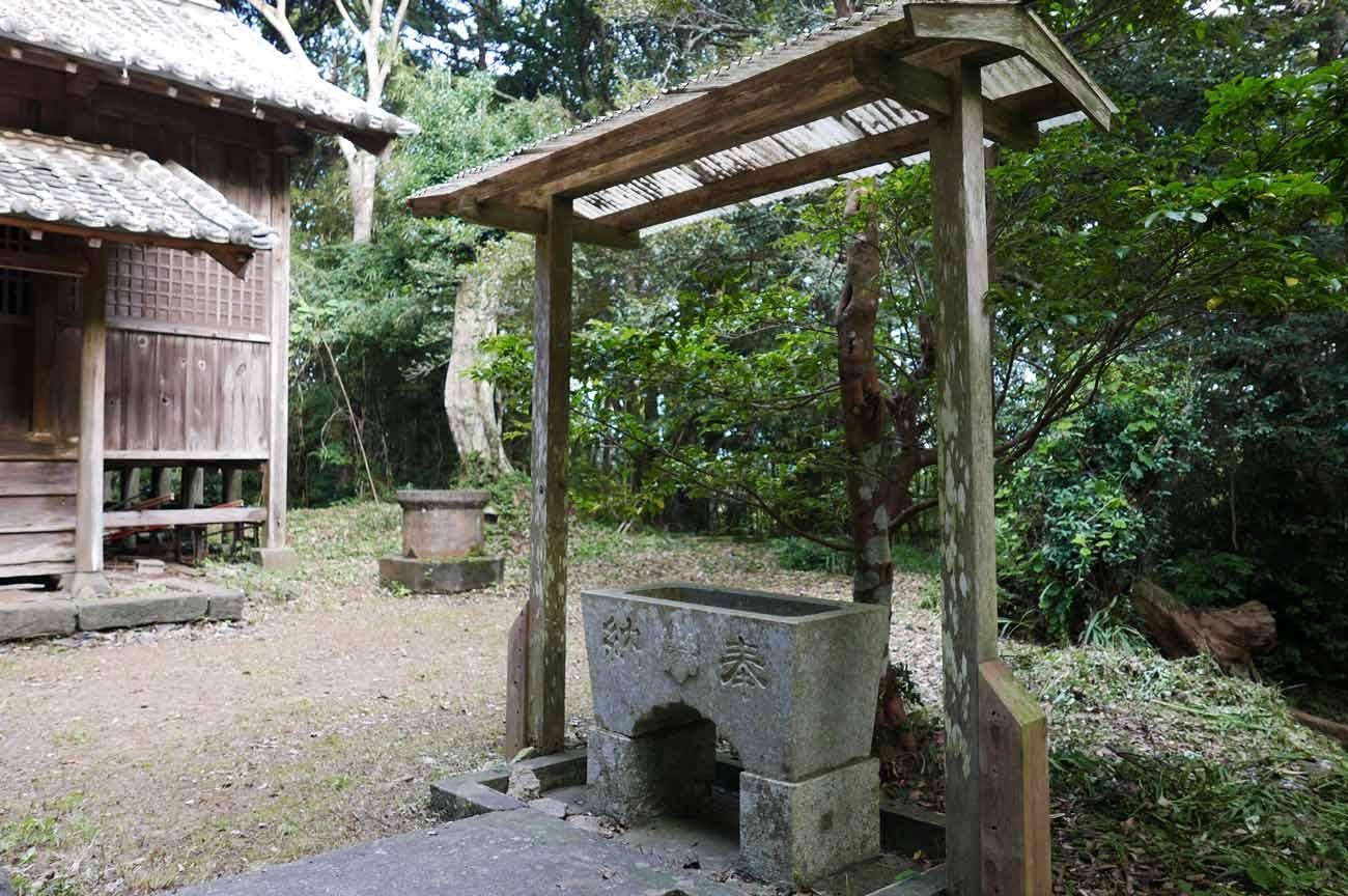 川戸神社手水舎の画像