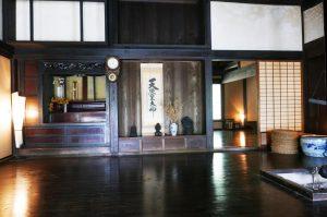 旧水田家住宅の居間の画像
