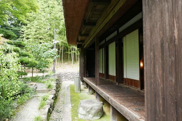 旧水田家住宅の縁側の画像