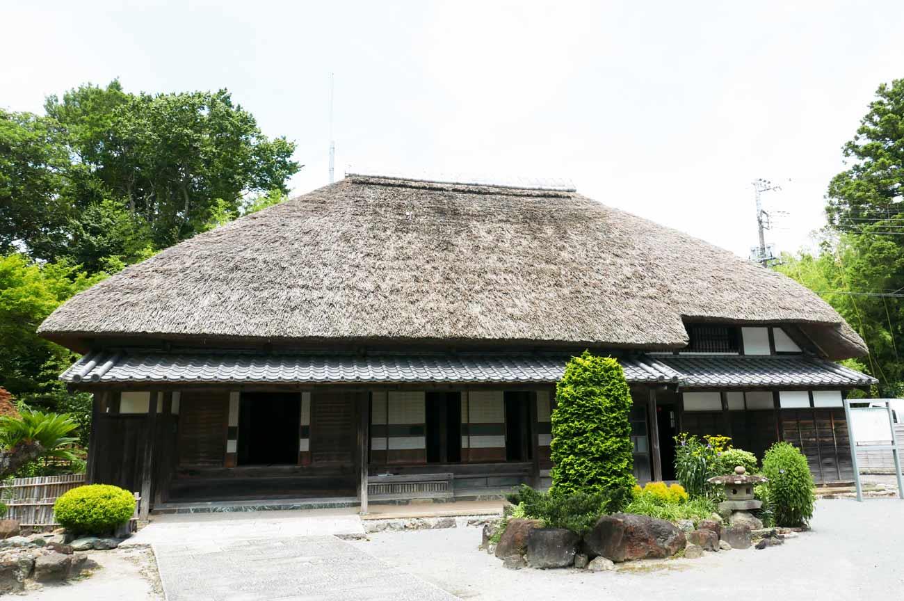 旧水田家住宅の母屋の外観画像