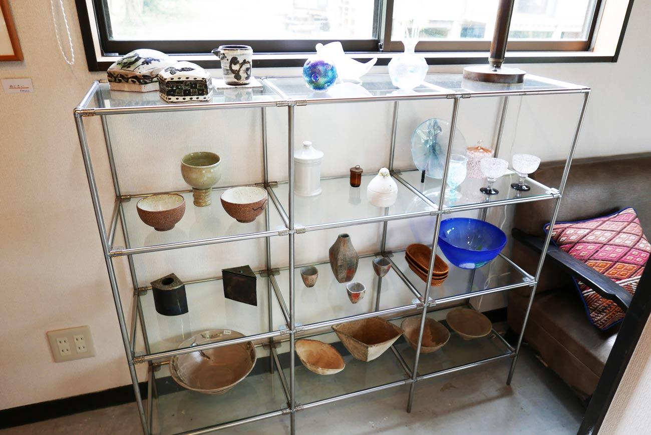 陶芸コーナーの画像