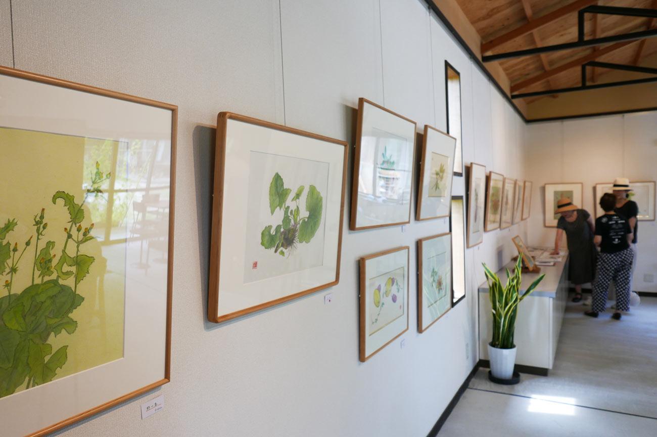 ギャラリーMOMOの展示絵画のの画像2