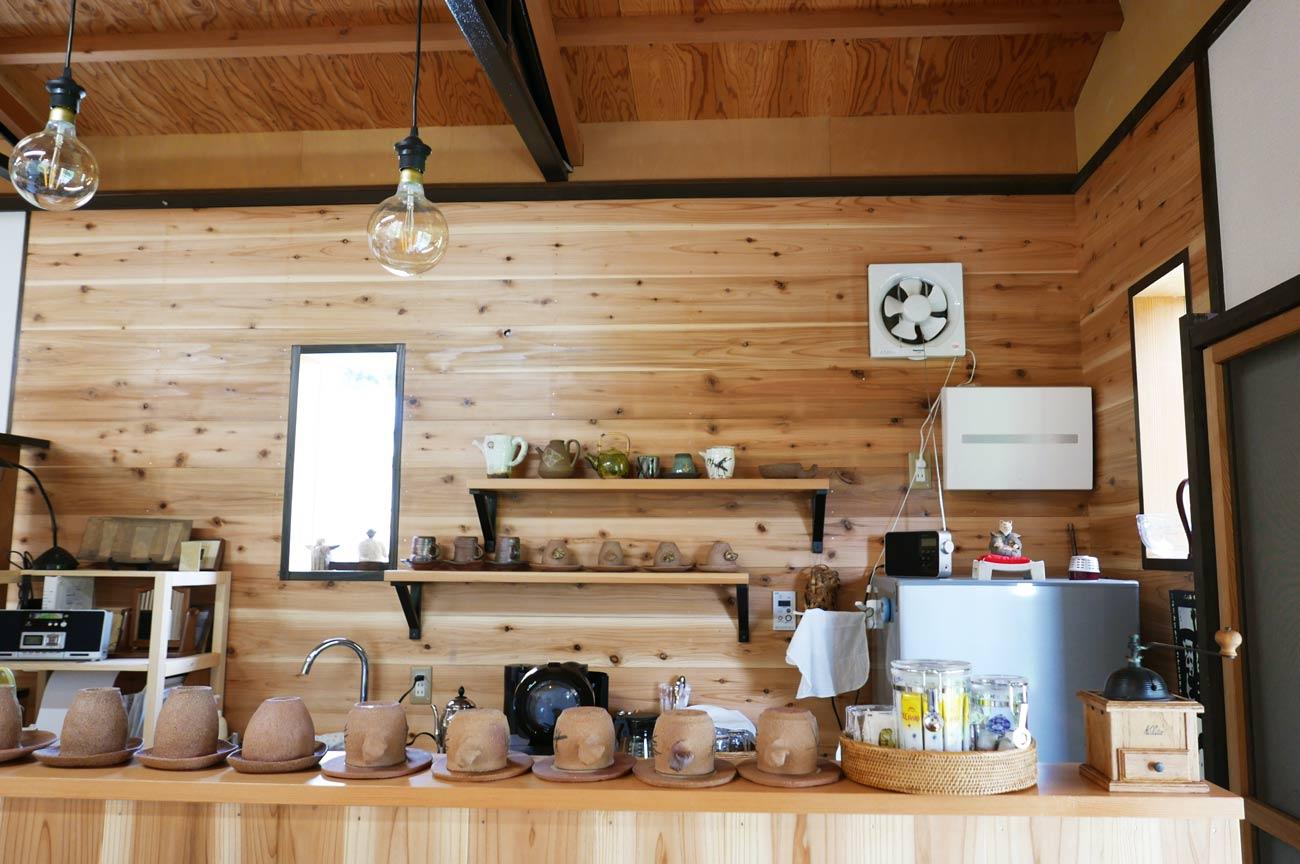 カフェコーナーの画像