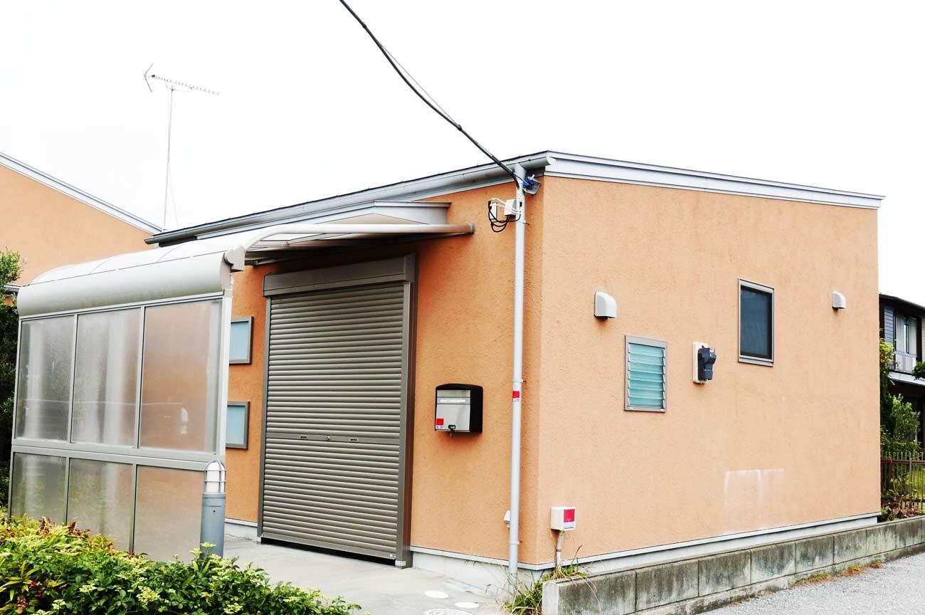 旧七浦診療所の玄関の画像