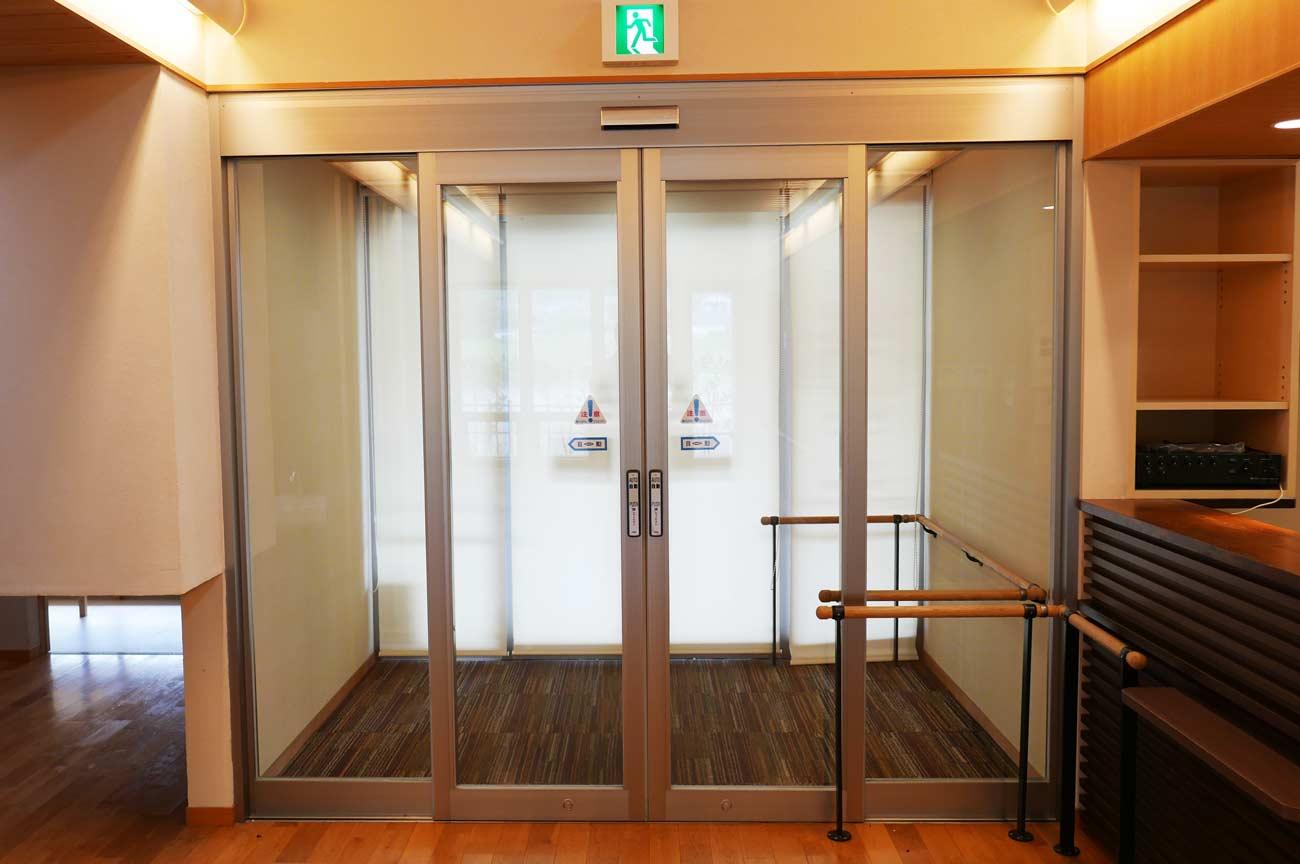 旧七浦診療所の待合室の画像