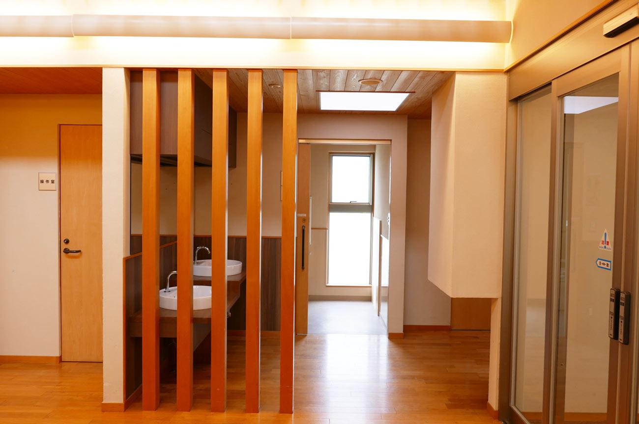旧七浦診療所のトイレの画像