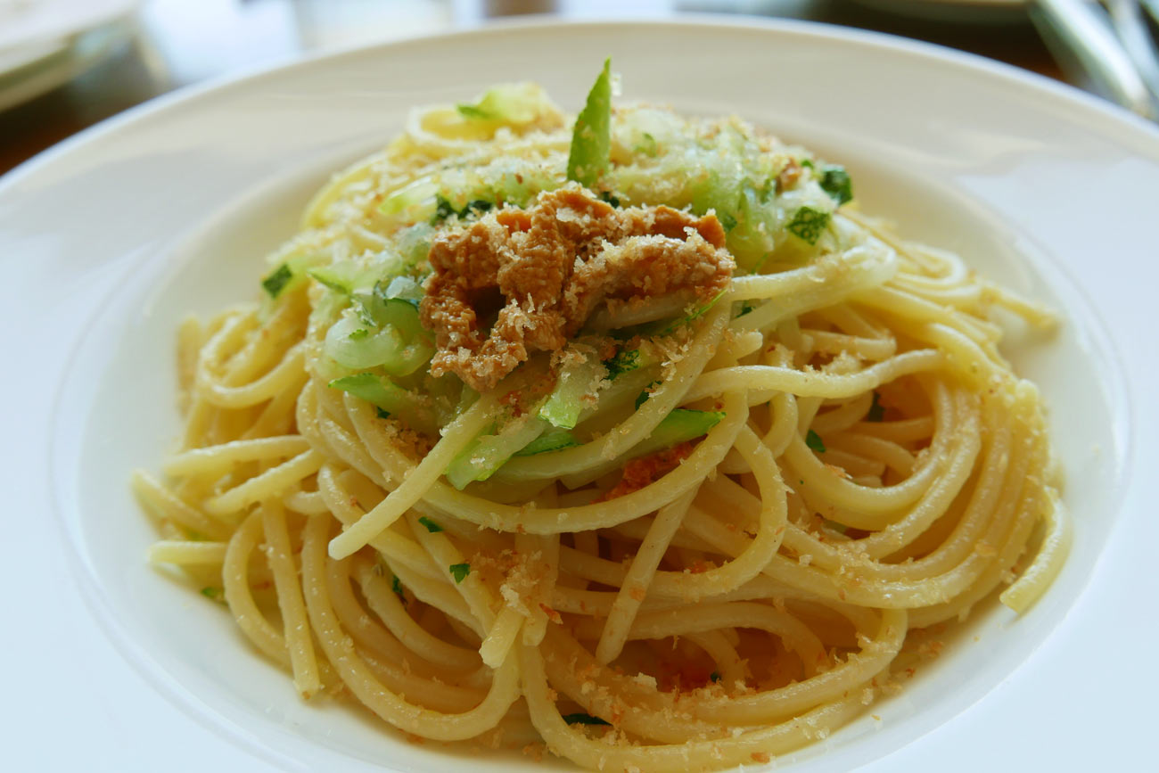 生ウニのスパゲッティの画像