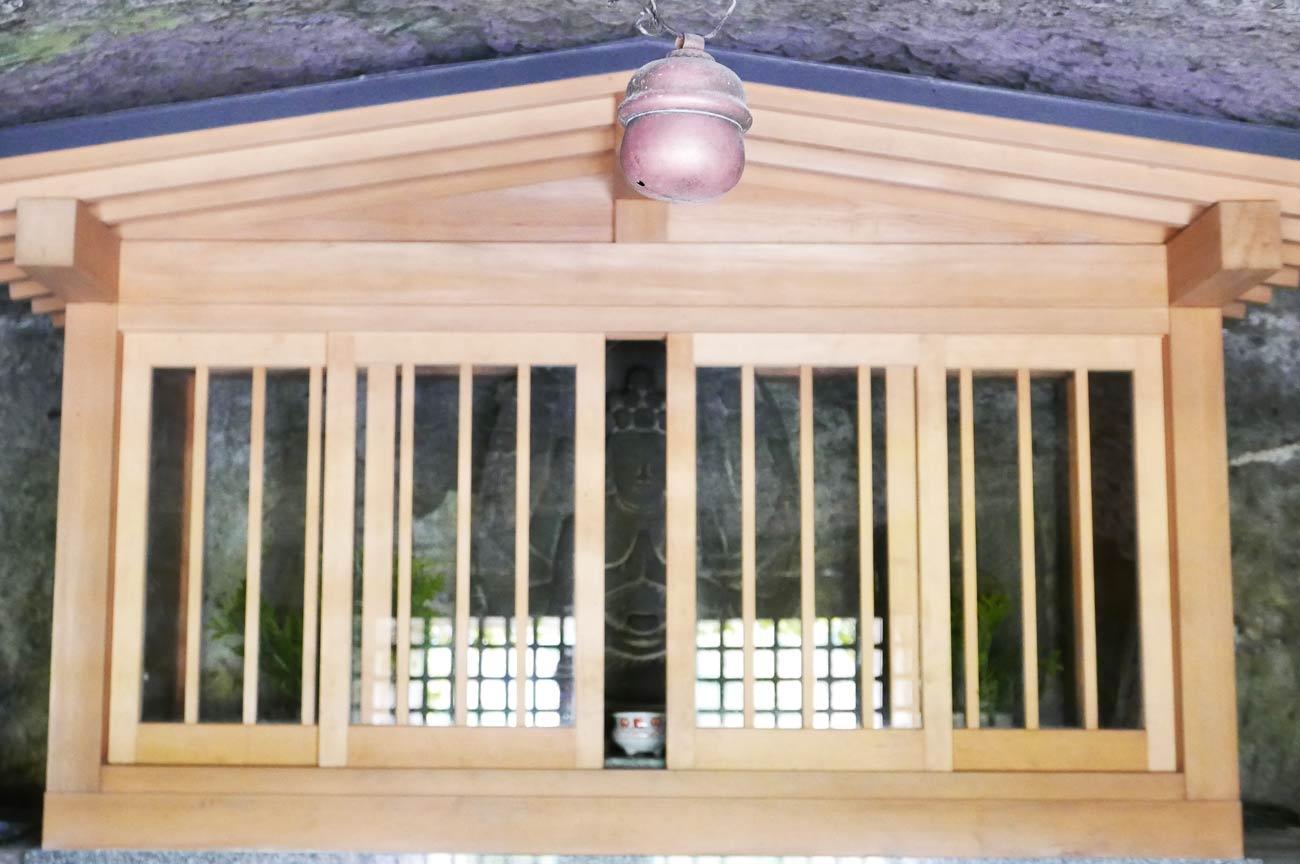 石像地蔵菩薩坐像の内部画像