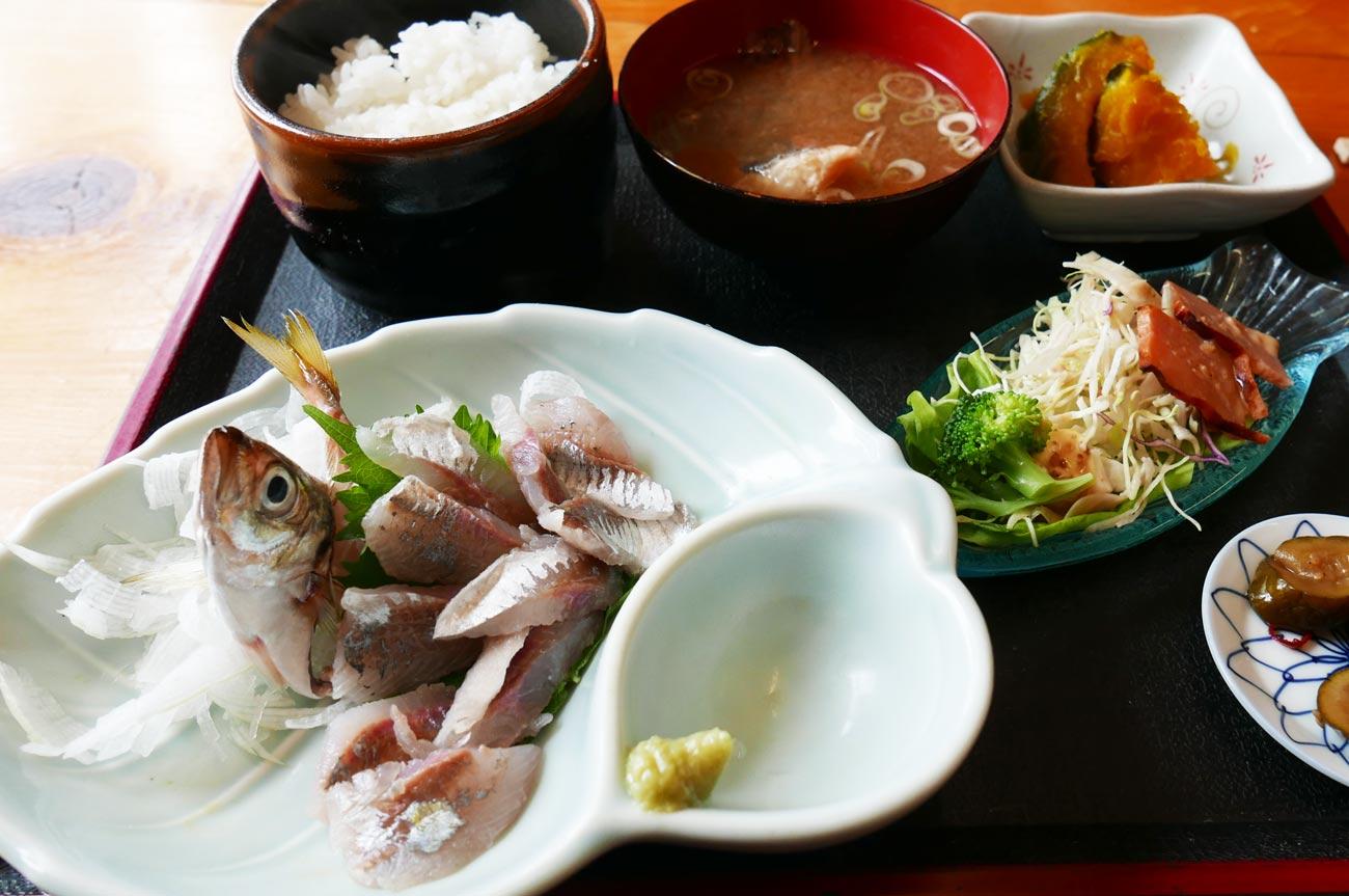 松大丸の日替わり定食の画像