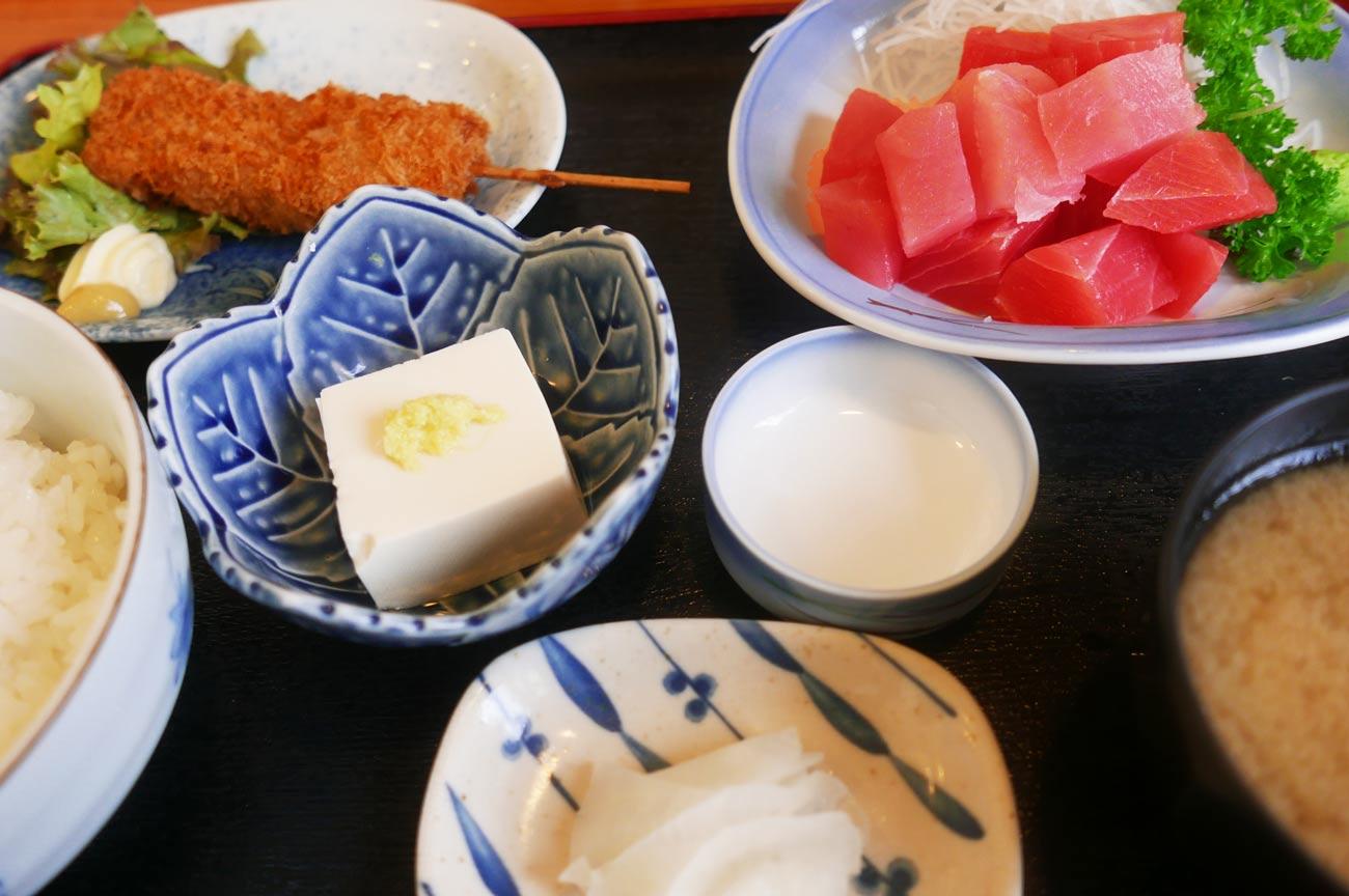 まさきの和食定食の画像