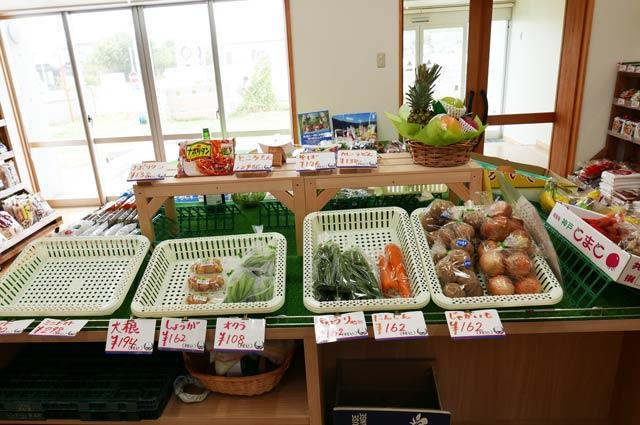 七浦横丁の地元野菜販売コーナーの画像2