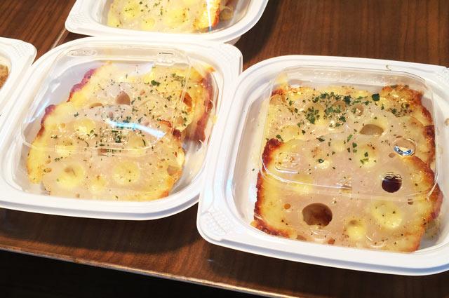 レンコンのチーズ焼きの画像