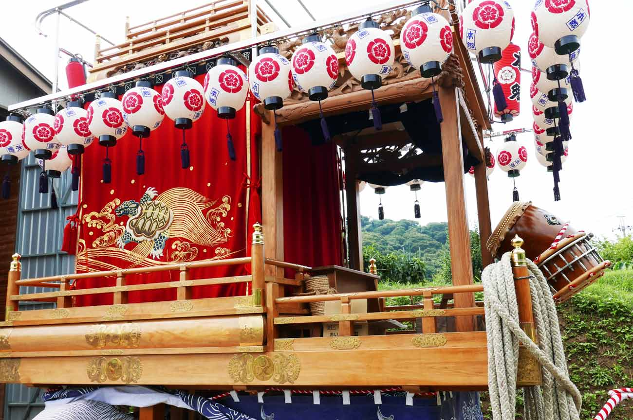 長尾本郷地区の祭礼