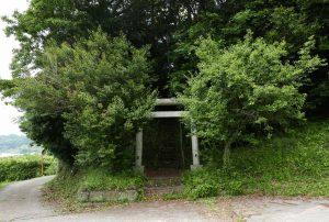 天満神社の鳥居の画像