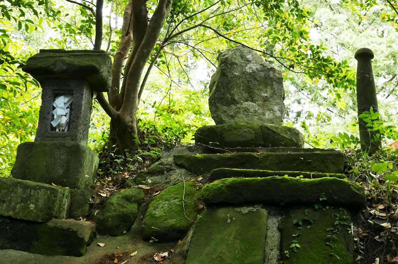 天満神社の男根の画像
