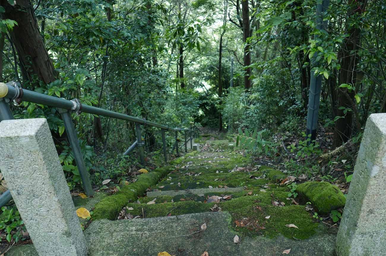 天満神社の階段の画像