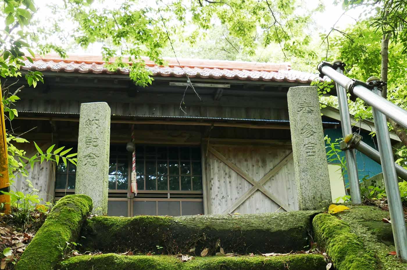 天満神社拝殿の画像