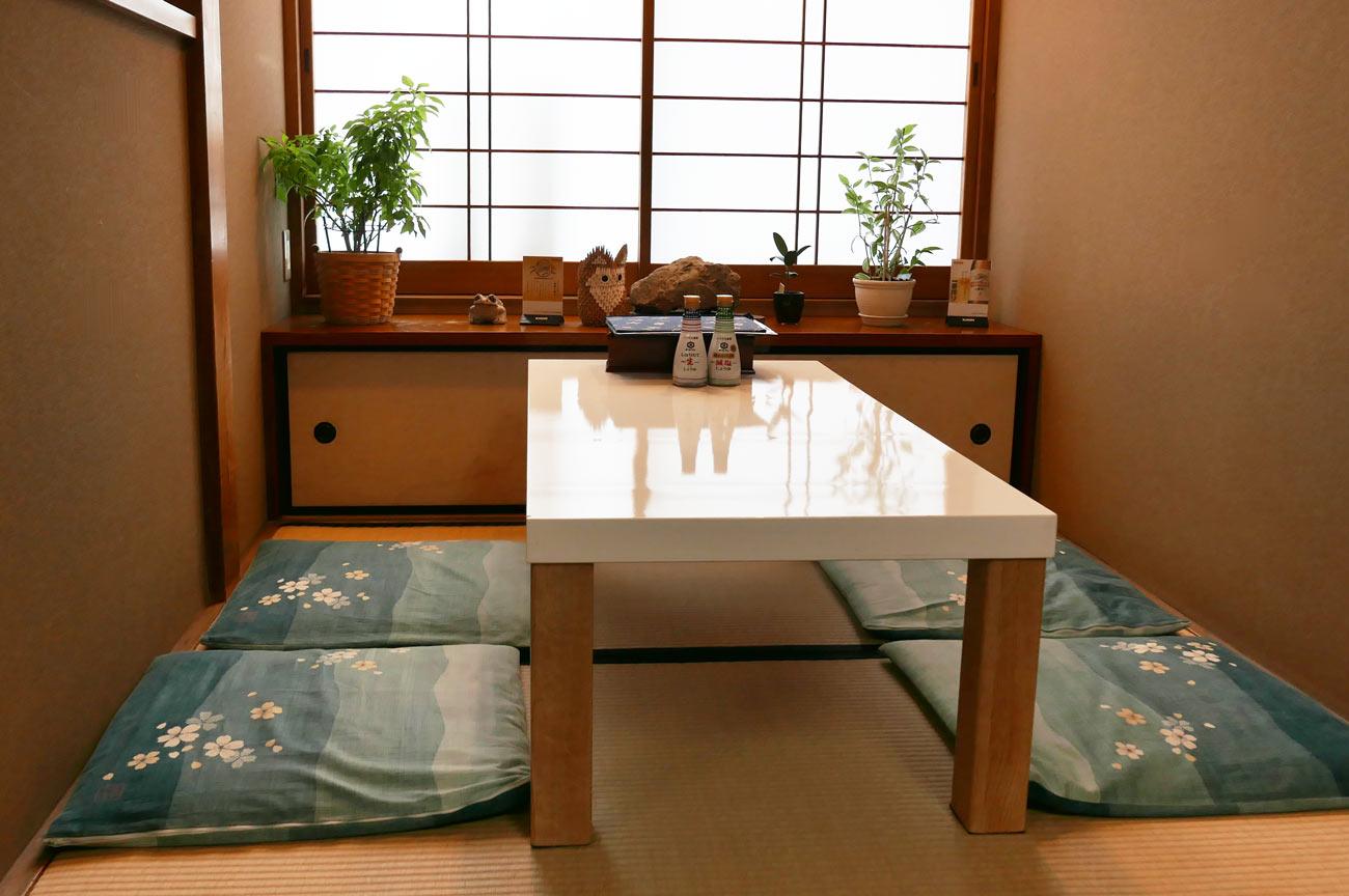 山田屋の個室の画像