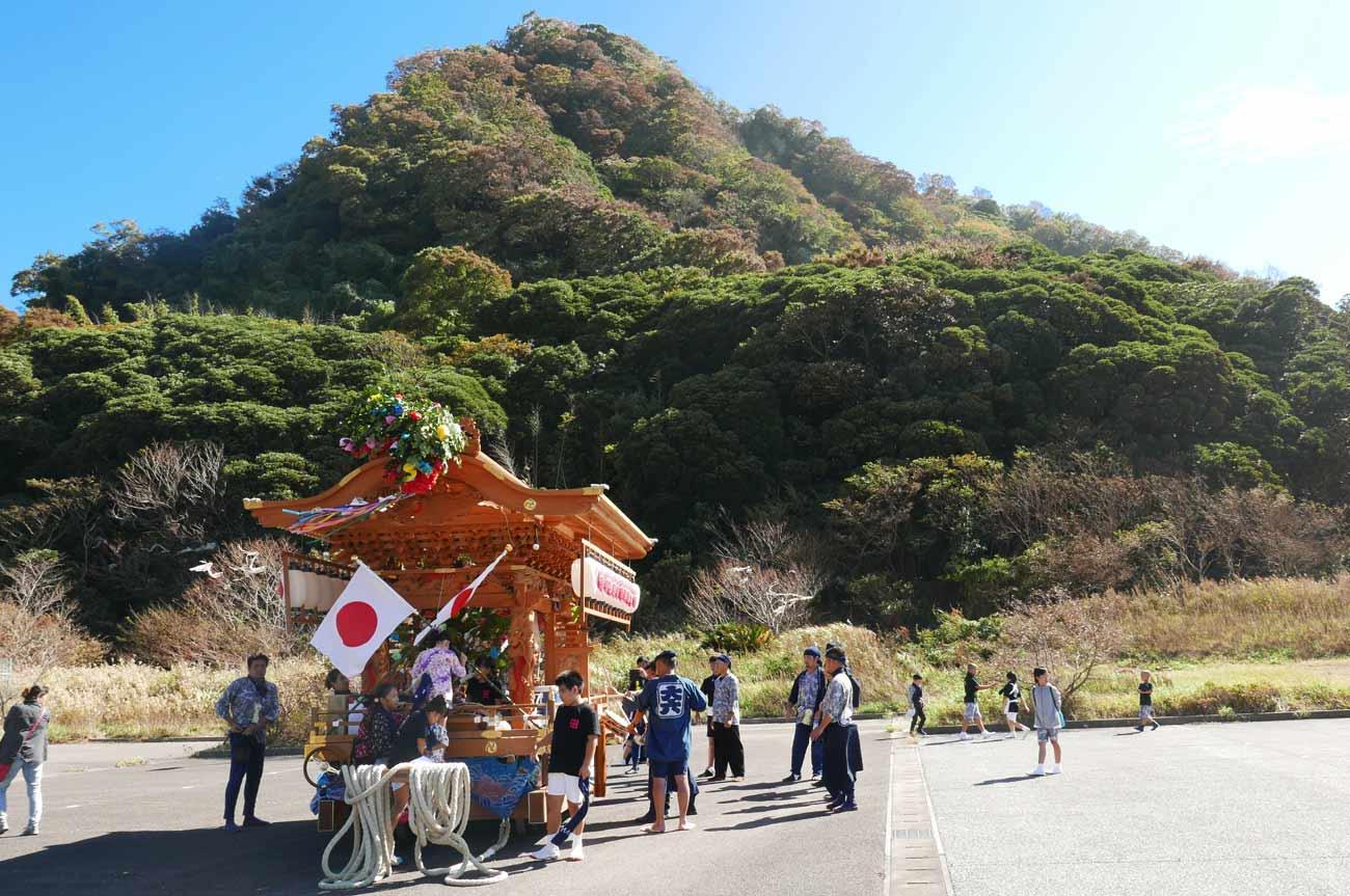 大六神社の屋台の画像