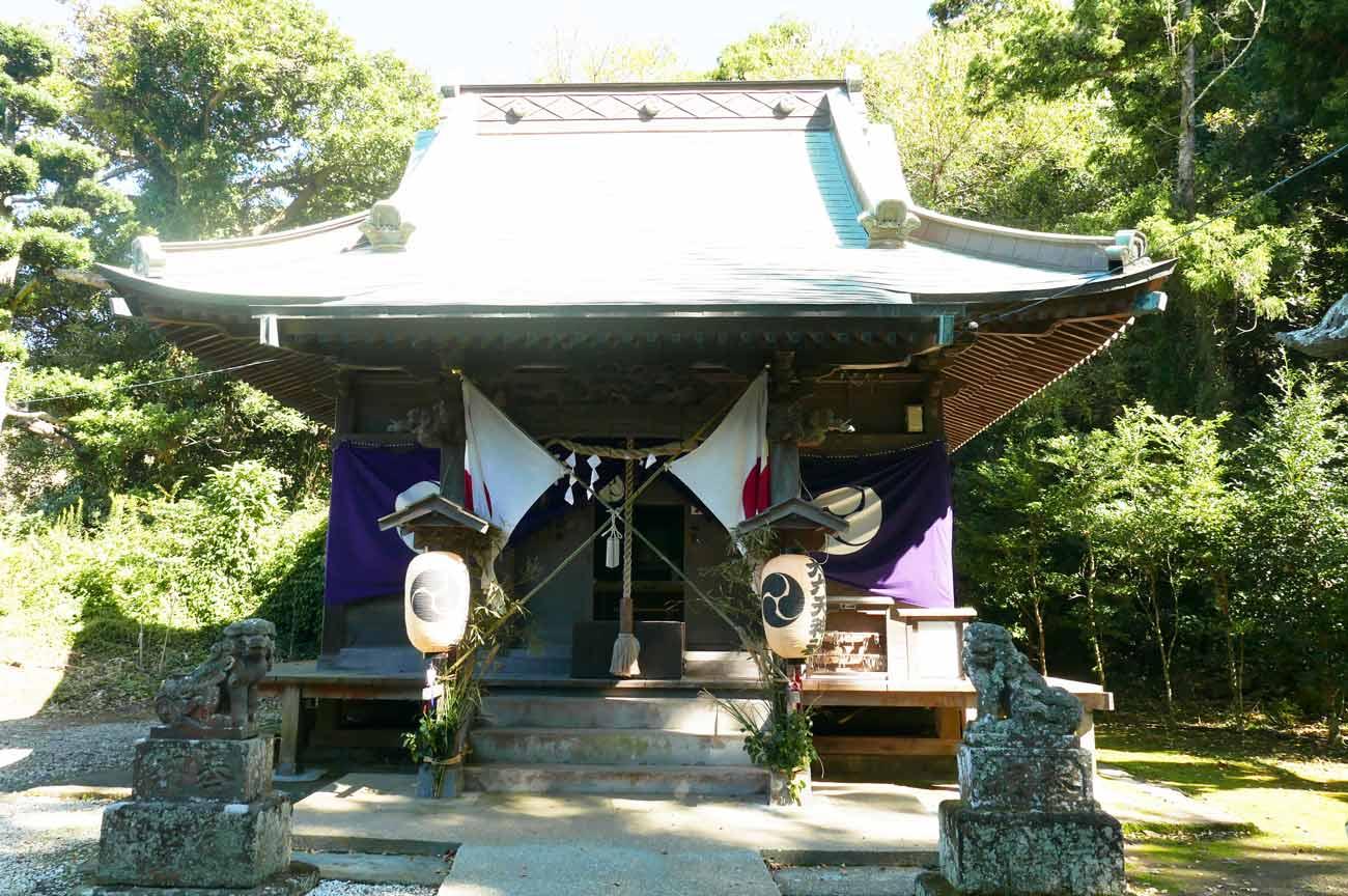 大六神社拝殿の画像
