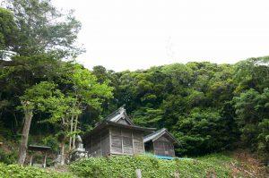 日枝神社の拝殿と本殿の画像