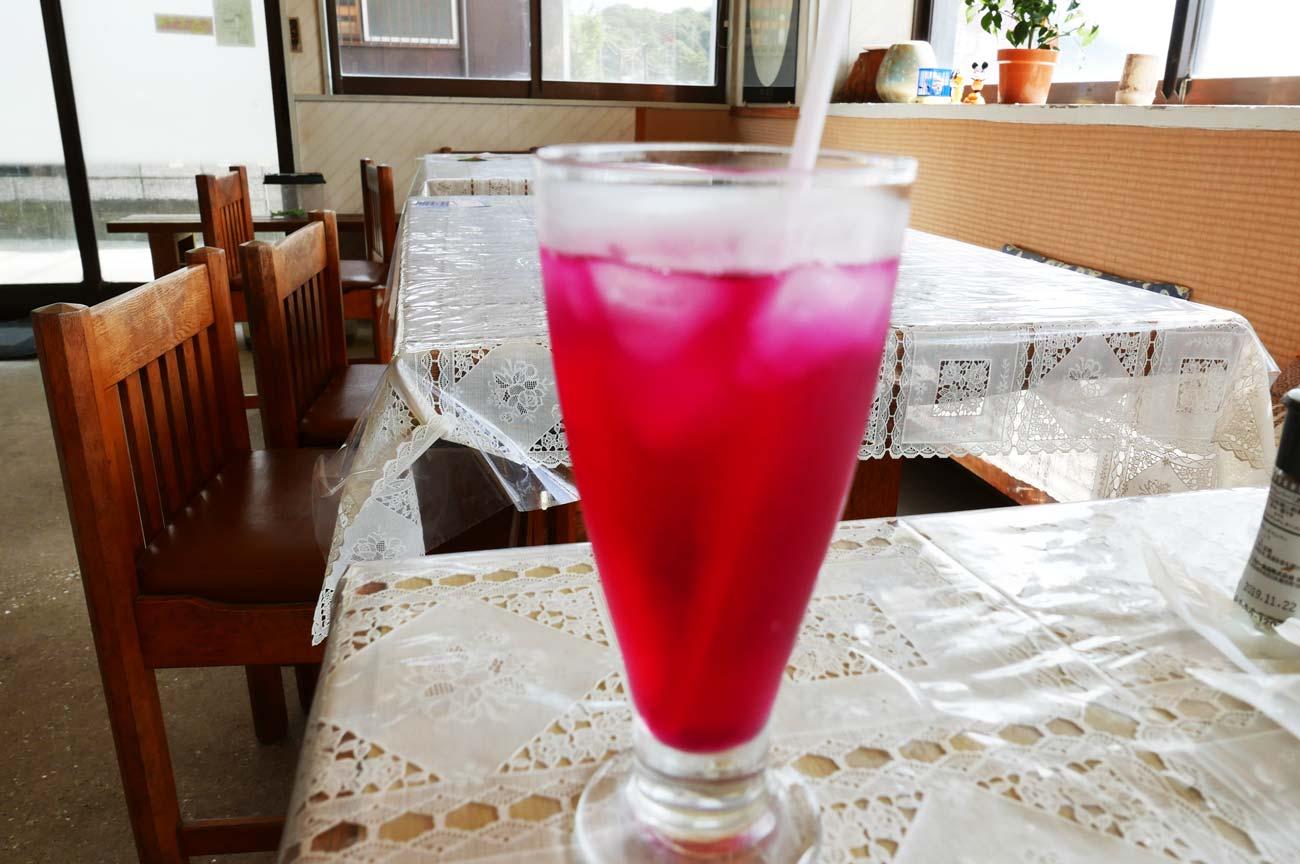 紫蘇ジュースの画像