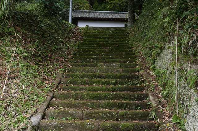 山宮神社参道の画像