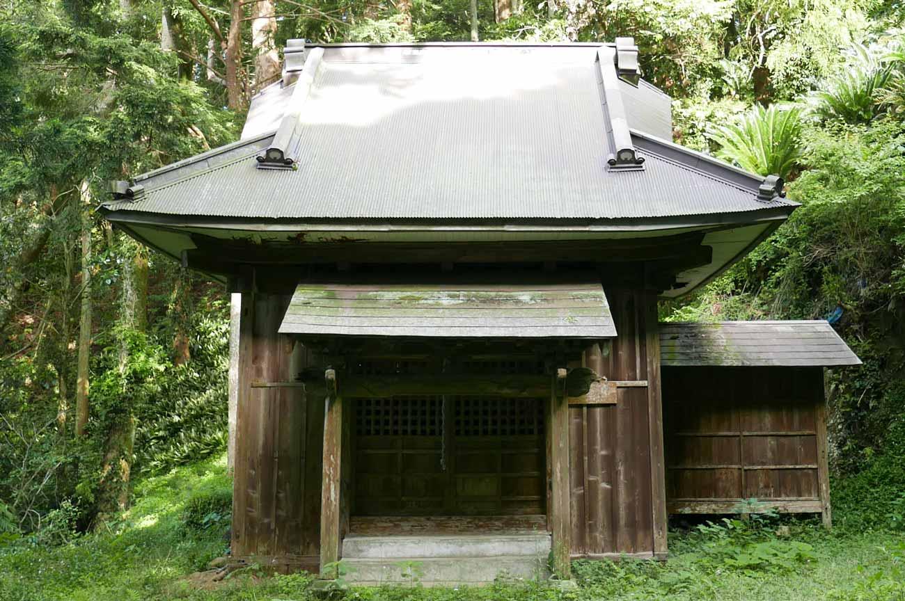 前田神社(大宮神社)拝殿の画像
