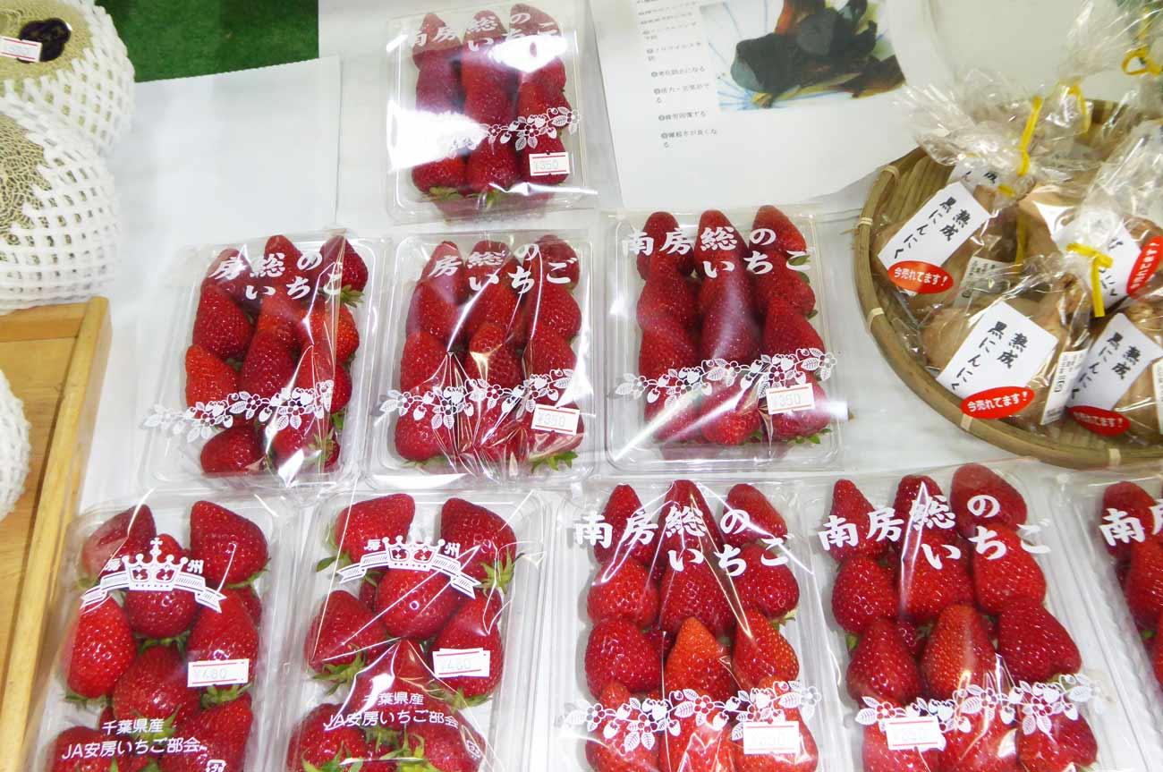 南房総産イチゴの画像