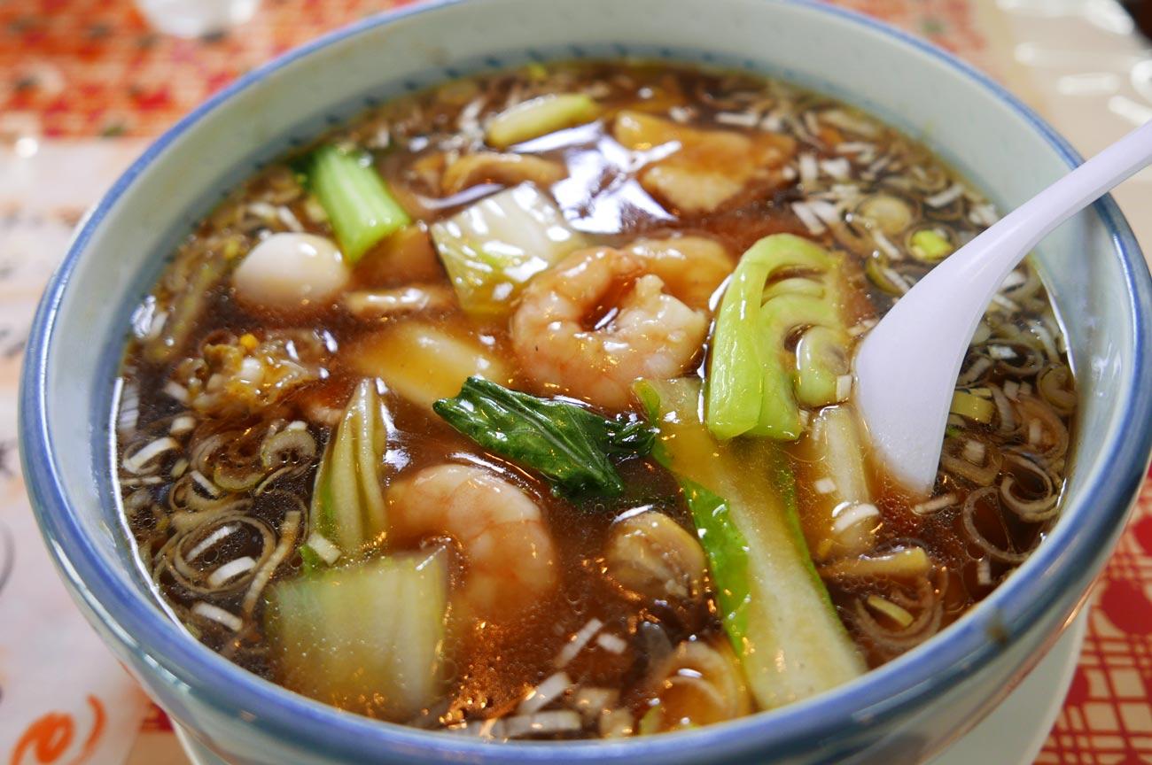 麺や すみよしの海鮮五目ラーメンの画像