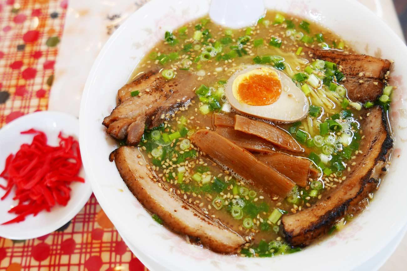 白湯チャーシュー麺の画像