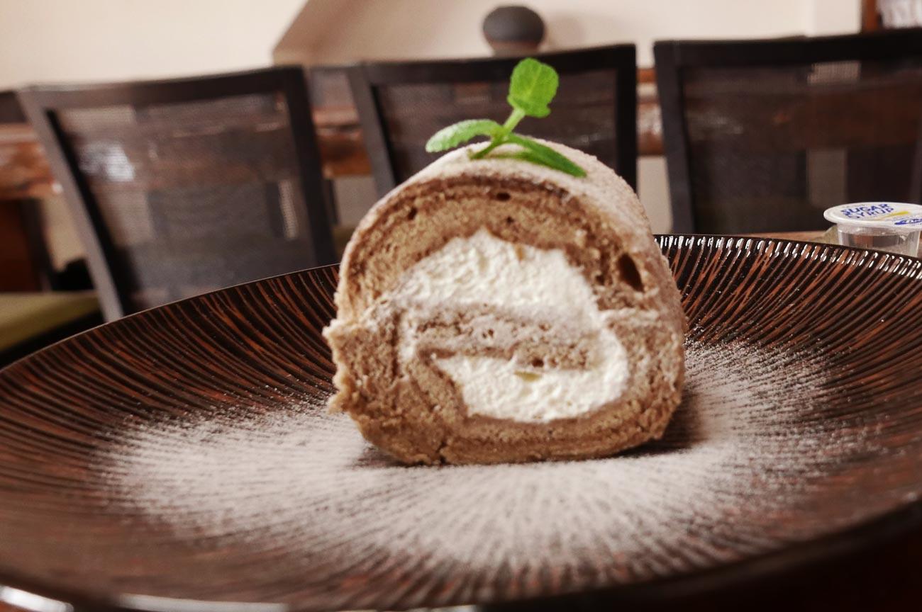 カフェ・ノワールのシフォンケーキ(ロール)の画像