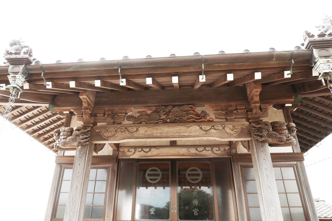 後藤義徳の龍の彫刻画像