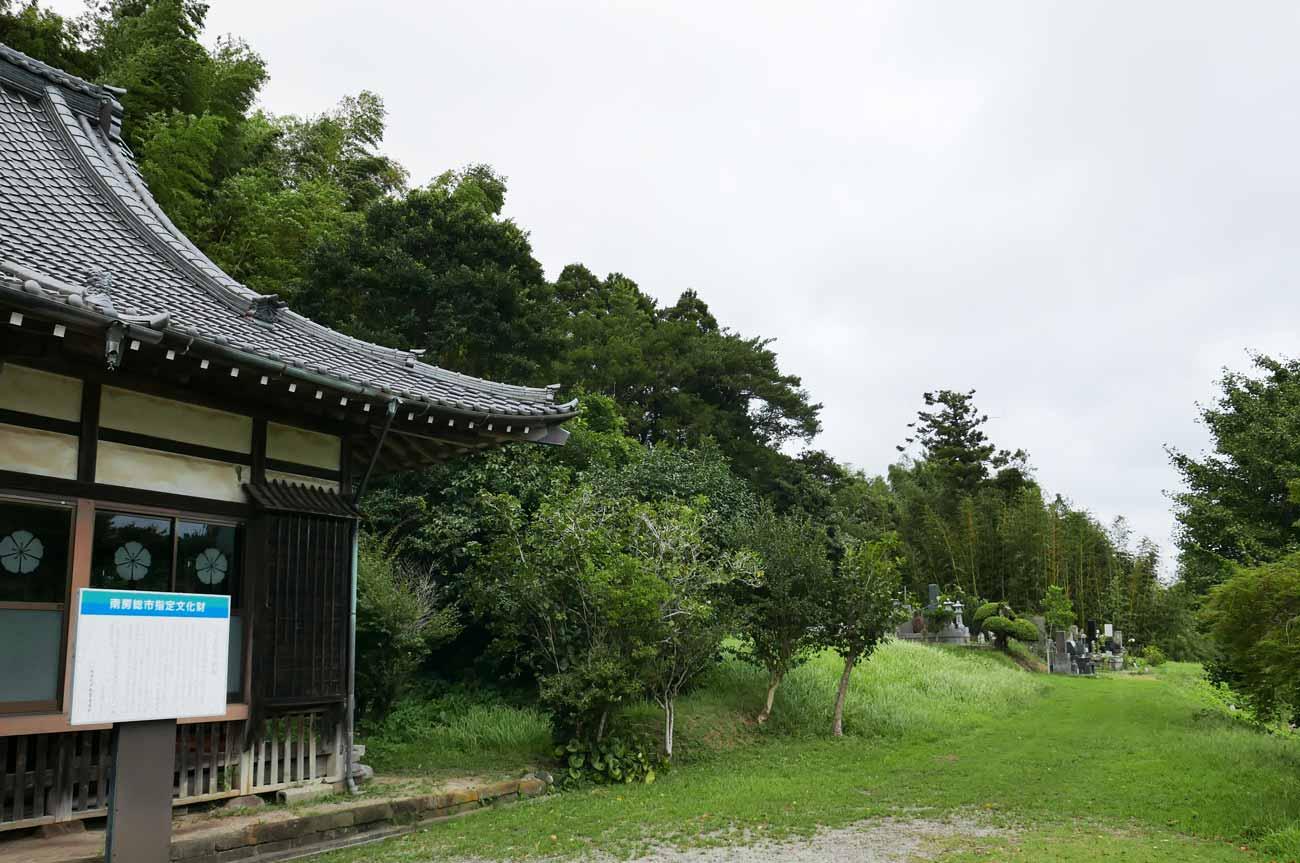 勝蔵寺境内の画像