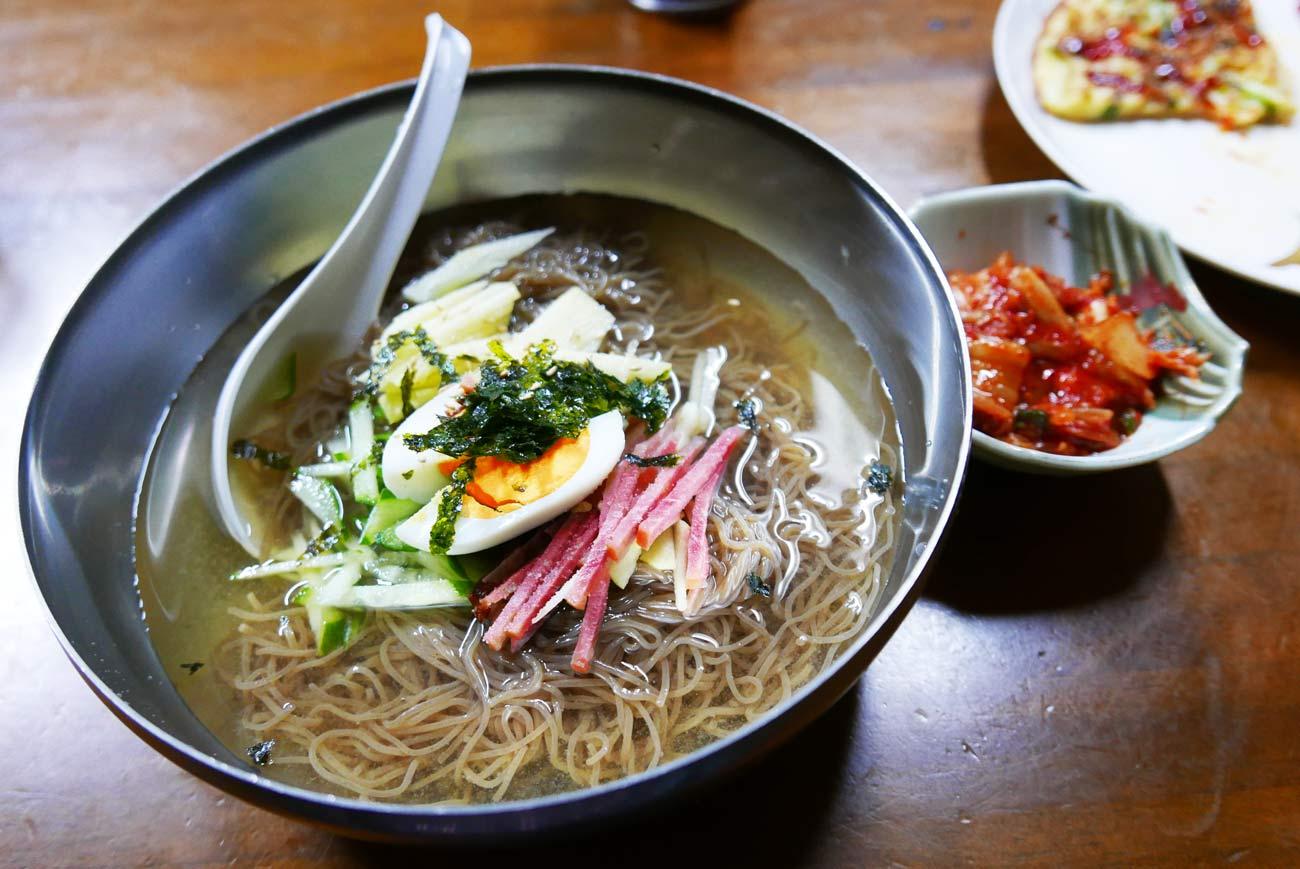 味家の水冷麺の画像