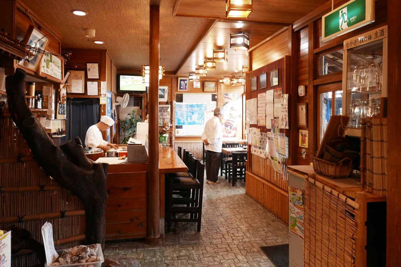 美樹鮨のカウンターの画像